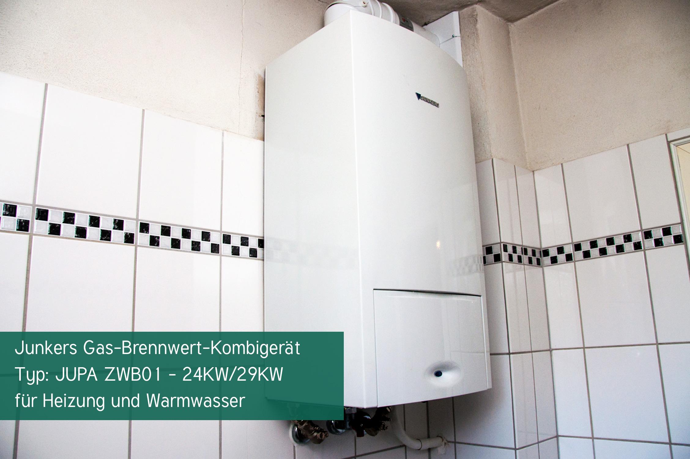 Einbau einer Gasbrennwert-Kombitherme in Essen - Herr Metken