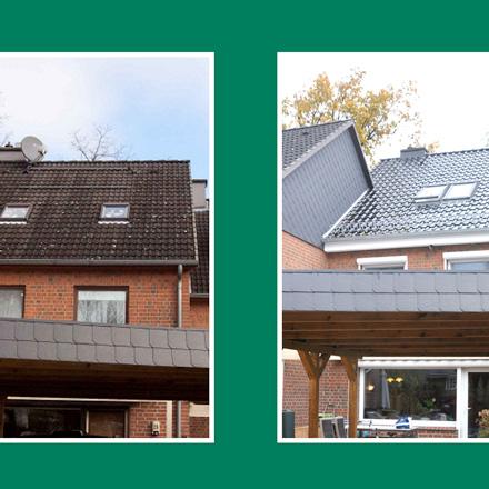 Bild zur Referenz von Dachsanierung und Kunststofffenster in Hamburg-Fischbek